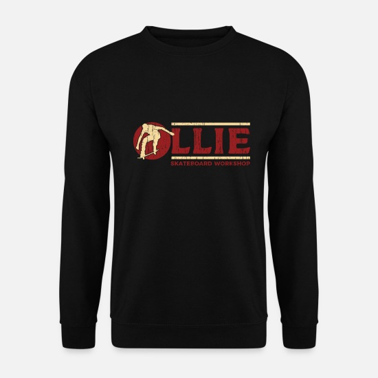 Ollie Hoodies & Sweatshirts - Skateboard Workshop Gift - Men's Sweatshirt black