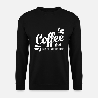 Elixir Coffee Elixir of Coffee Drinker Bean Elixir - Unisex sweater
