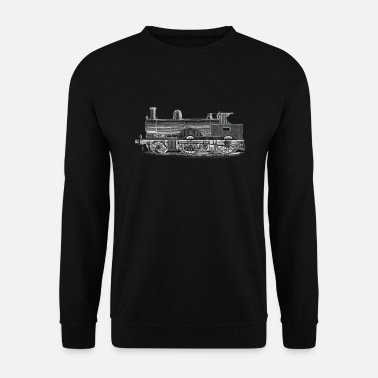 Model Train trains model railroad railway gift - Unisex Sweatshirt