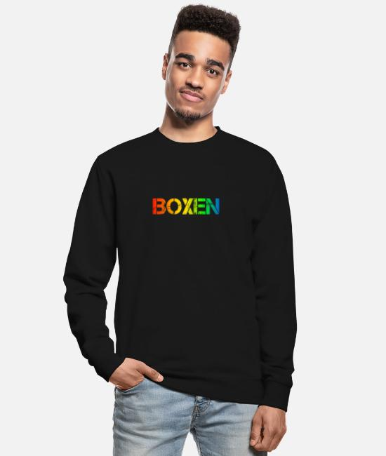 Fighter Hoodies & Sweatshirts - boxer - Unisex Sweatshirt black