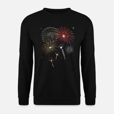 Jour De Lan Feux d'artifice le jour de l'an - Sweat-shirt Unisex