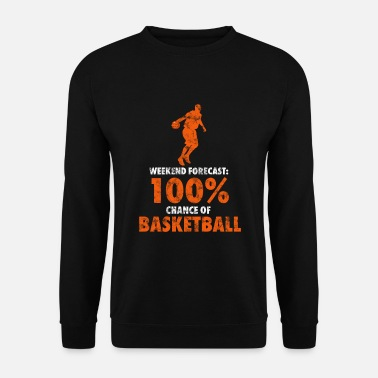 État Week-end de basket - Sweat-shirt Homme