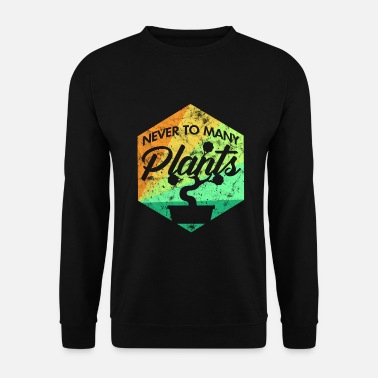 Pot De Fleur plante - Sweat-shirt Homme