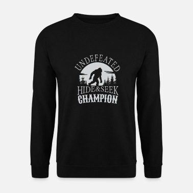 Big Undefeated Hide & Seek Champion Bigfoot - Unisex Pullover