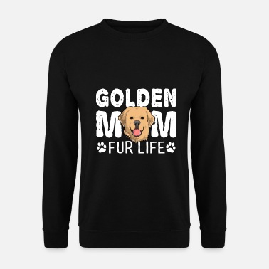 Toilette Golden Retriever Mom For Life Dog Pun - Sweat-shirt Unisexe