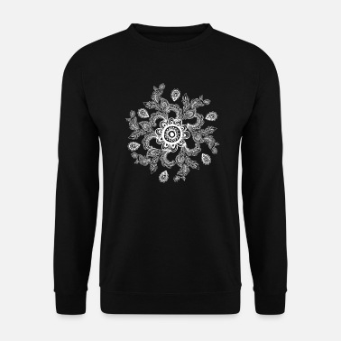 Trippy Psychedelisches Symbol Goa Trance Festival - Unisex Pullover