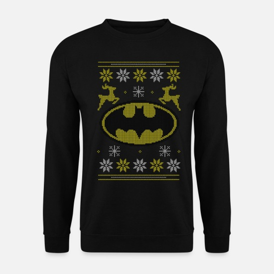 Christmas Sweaters & hoodies - Justice League Batman Ugly Christmas - Unisex sweater zwart