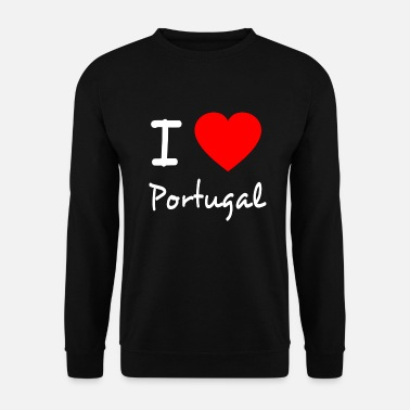 Portugal I LOVE PORTUGAL - Men's Sweatshirt