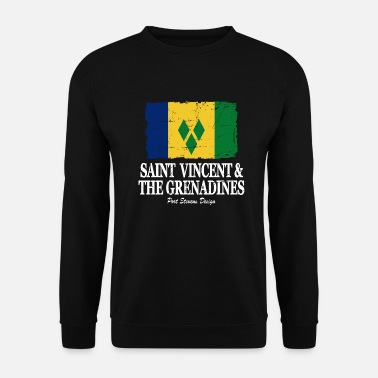 Chic Flag of Saint Vincent and the Grenadines - Unisex Sweatshirt