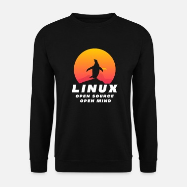 Open Linux - Open Source Open Mind - Felpa unisex