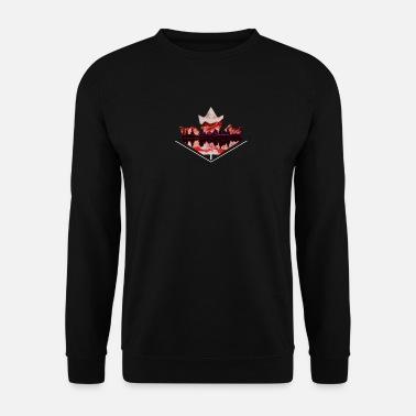 Feuille feuille d'érable - Sweat-shirt Unisexe