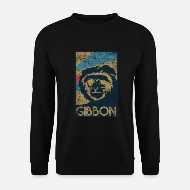 Chimpanzé Gibbon Geshenk - Sweat-shirt Homme