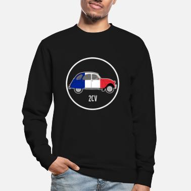 Classic France duck 2CV car classic car gift France - Unisex Sweatshirt