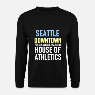 Seattle Seattle - Centre ville - House of Athletics - Sports - Sweat-shirt Homme
