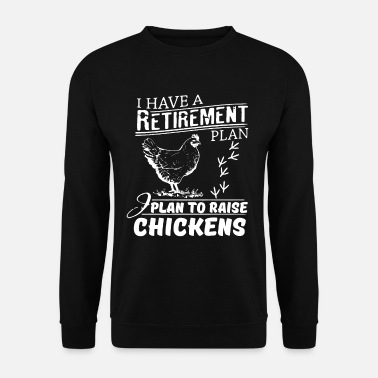 Gallina Chicken Woman Funny farmer shirt - Felpa uomo