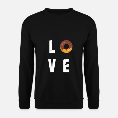 Gâteau Donut Love - Sweat-shirt Homme