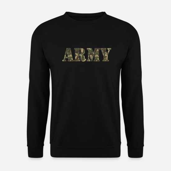 Stag Hoodies & Sweatshirts - ARMY - Unisex Sweatshirt black
