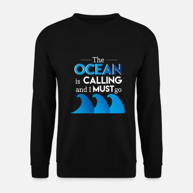 Ancre Capitaine Ocean - Sweat-shirt Homme