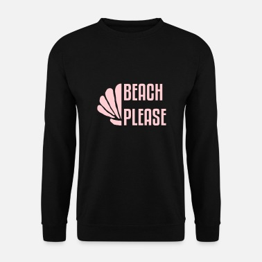 Oncle Plage je plage je mer je surfe je chaise de plage je sable - Sweat-shirt Homme