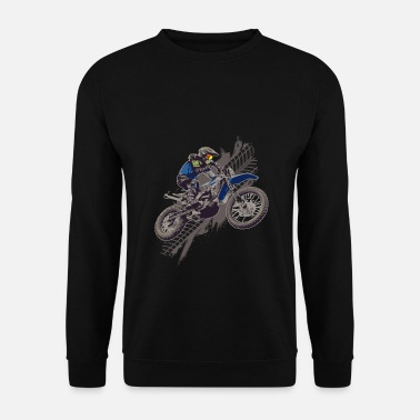 Motor Race Motocross Off Road Biker Crossmotor - Unisex sweater