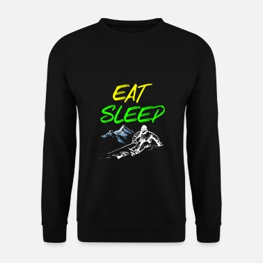 Austria Eat sleep ski - snowboard, ski, slalom - Men's Sweatshirt