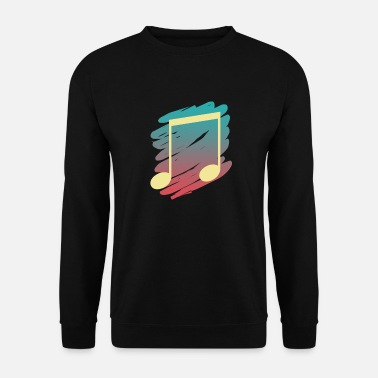 music note - Men's Sweatshirt