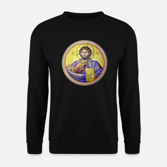 Symbol  Hoodies & Sweatshirts - Church of the Holy Sepulchre - Men's Sweatshirt black