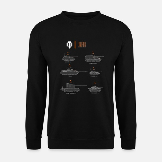 World Hoodies & Sweatshirts - World of Tanks Sniper - Unisex Sweatshirt black