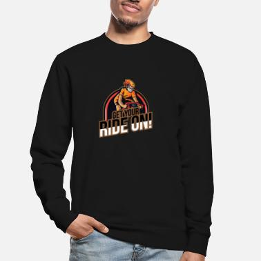 Downhill Get your ride on - downhill mountain - Unisex Pullover