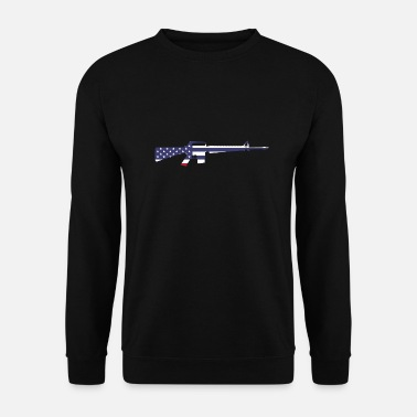 M16 m16 USA - Sweat-shirt Unisex