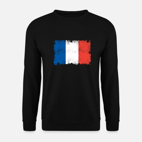 World Championship Hoodies & Sweatshirts - France flag, France, France flag - Unisex Sweatshirt black