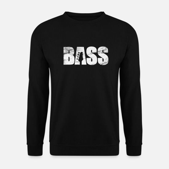 Bassist Sweat-shirts - basse - Sweat-shirt Homme noir