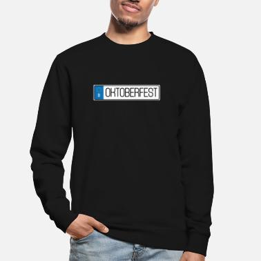 License Plate Oktoberfest license plate - Unisex Sweatshirt