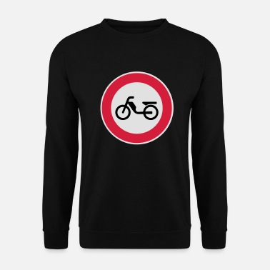 Interdiction Cyclomoteur cyclomoteur Interdiction Interdiction - Sweat-shirt Unisexe