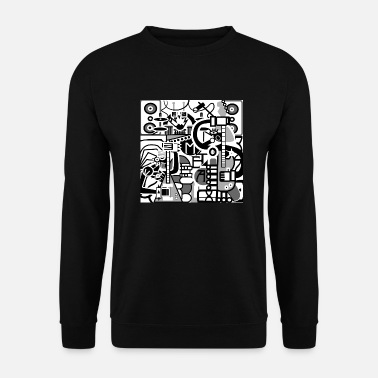 Hard Rock hard Rock Band light - Unisex Sweatshirt