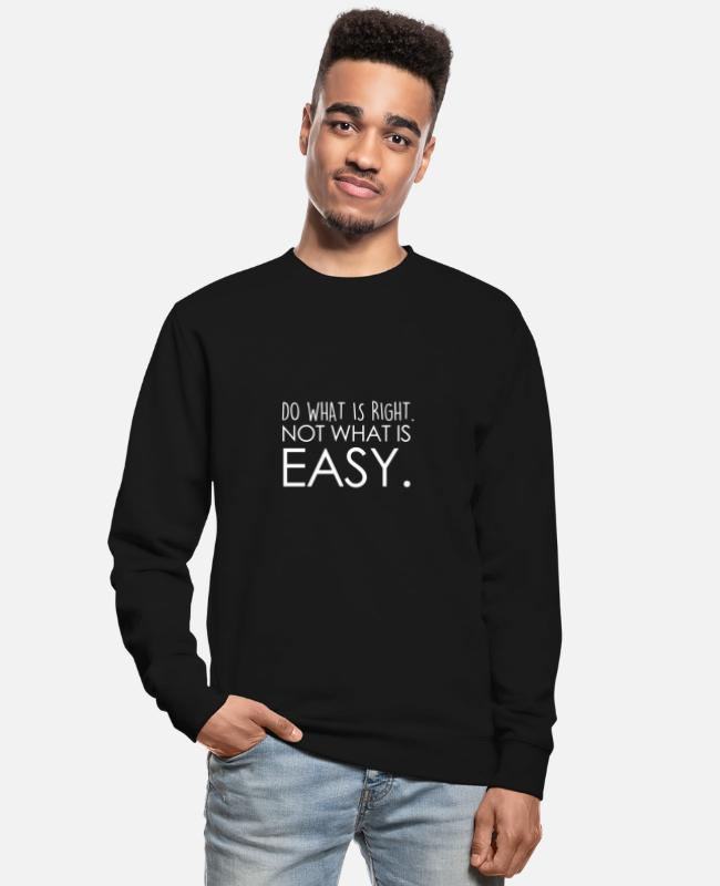 Training Pullover & Hoodies - TOO MUCH EGO WILL KILL YOUR TALENT - Unisex Pullover Schwarz