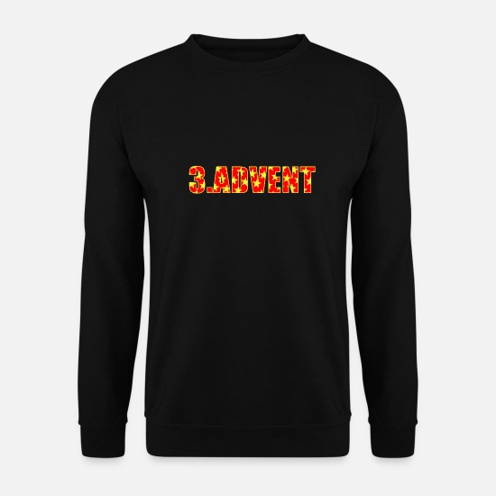 Gift Sweaters & hoodies - 3.Advent - Unisex sweater zwart