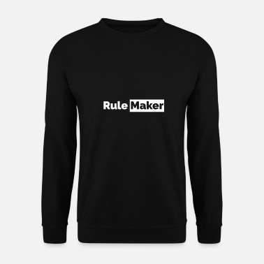 Breakbeat Couples Rule Maker partner look Funny gift idea - Unisex Sweatshirt
