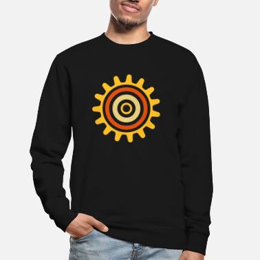 Shape cogwheel - Sweat-shirt Unisexe