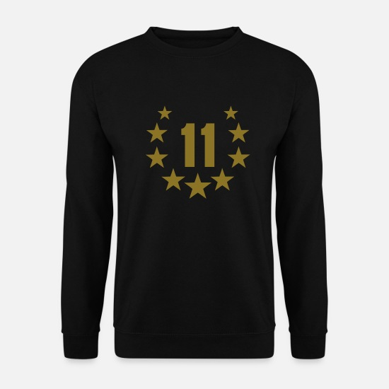 Birthday Hoodies & Sweatshirts - 11 deluxe - Men's Sweatshirt black