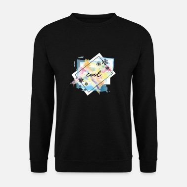 Flake cool flakes or cool flakes - Men's Sweatshirt