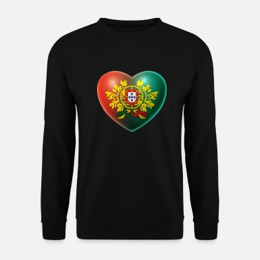 Portugal Heart (Portugal / Portuguesa) 02 - Men's Sweatshirt