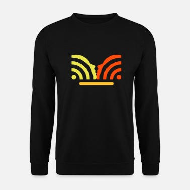 Vittig get in touch with social media + username - Sweatshirt unisex