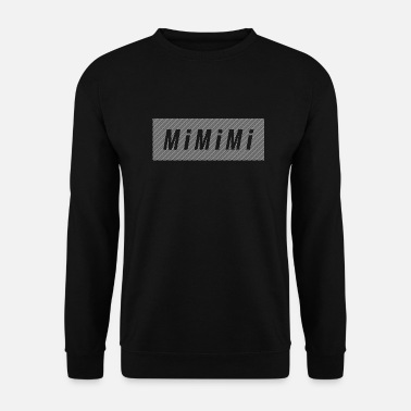 Strip MiMiMi - White - Art House - Men's Sweatshirt