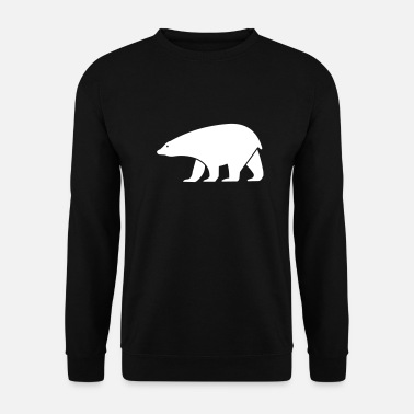 Shape ours blanc - Sweat-shirt Unisex