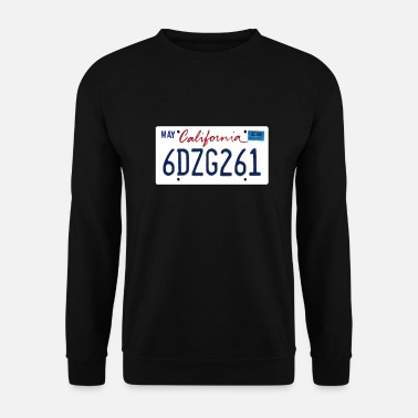 California Plate - Sweat-shirt Unisex