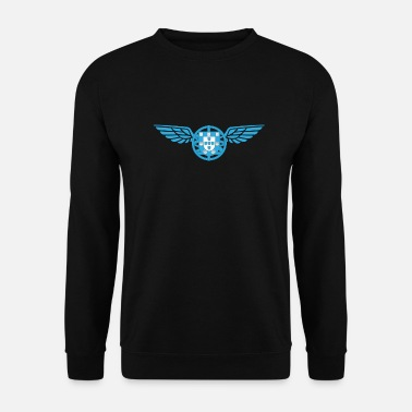 Portugal Portugal Fly Bleu - Sweat-shirt Unisexe