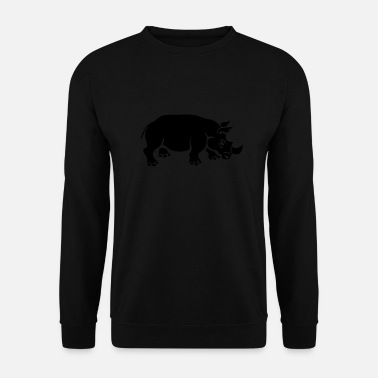 Rhinoceros rhinoceros - Men's Sweatshirt