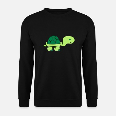 Small turtle legs feet run go small baby boy cartoon com - Men's Sweatshirt