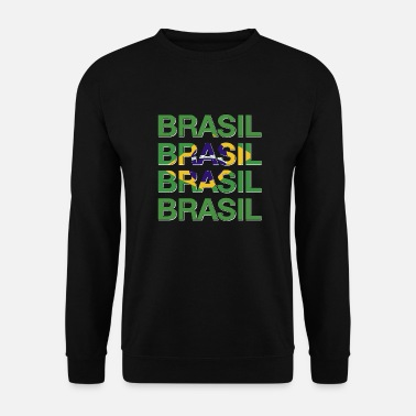 Copacabana Brazil flag - Men's Sweatshirt